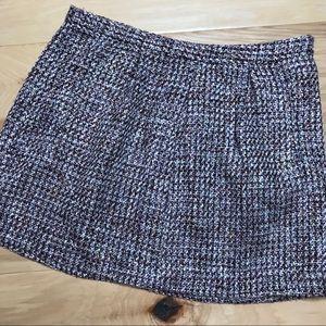 GAP Tweed mini skirt Sz 10